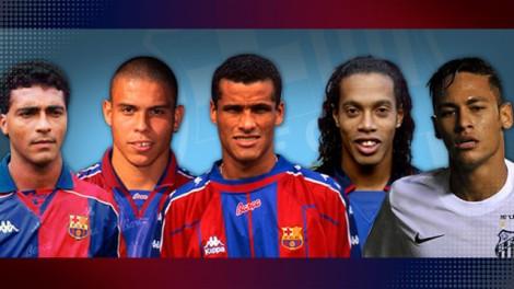 Romário, Ronaldo, Rivaldo, Ronaldinho. Todos fizeram sucesso dentro de campo e no marketing.  E Neymar continua o que começou no Brasil?