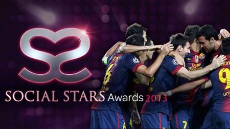 Barcelona recebeu reconhecimento pela sua popularidade e engajamento nas redes sociais.