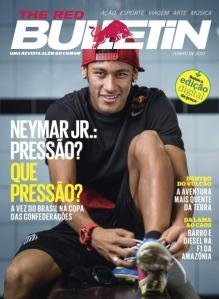 Neymar capa da Red Bulletin