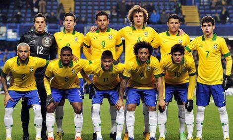 Valor de mercado dos jogadores da seleção brasileira coloca o país entre as principais seleções do mundo.