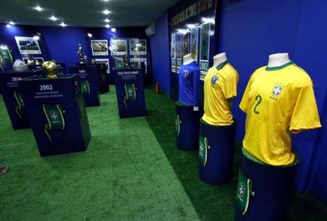 Exposição é uma iniciativa da Confederação Brasileira de Futebol (CBF).